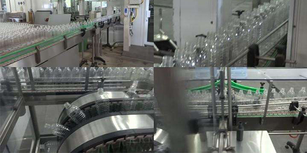 how does a water bottling plant work