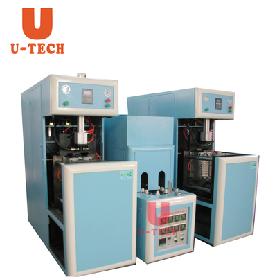 5L twin model semi-auto blow molding machine