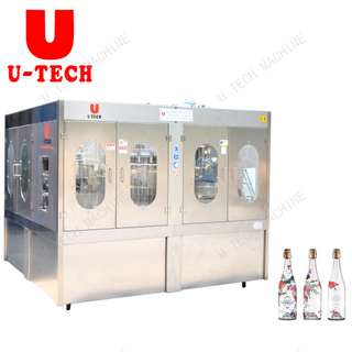 Automatic Small Bottle Mineral Water Washing Filling Capping Machine Price