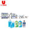 Alcohol Hand Clean Sanitizer Gel Disinfectant Sprays Perfume Bottle Automatic Filling Capping Machine